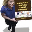 Interview for Airline Management.