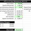 Tax Time : Crew Allowances (v3.1)
