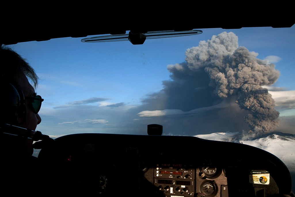 The Volcanic Ash Encounter