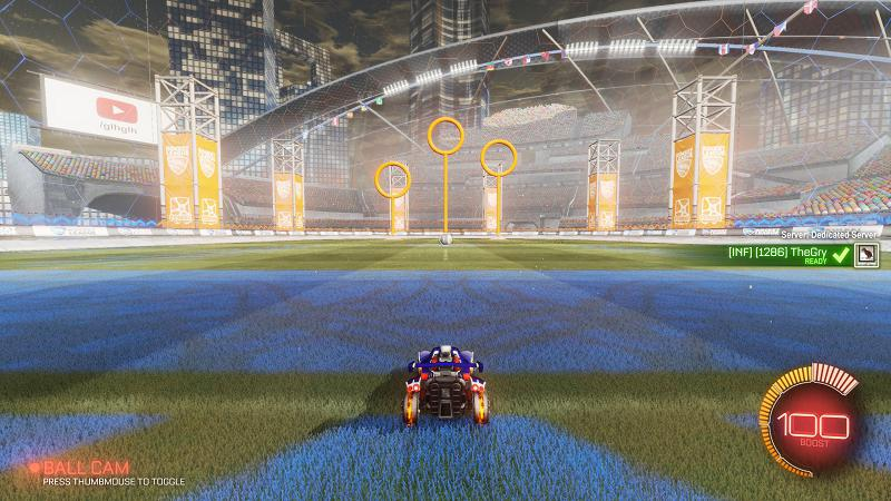 Playing Private, Workshop Maps Matches in Rocket League